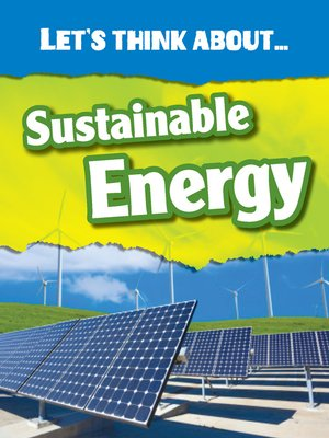 cover image of Let's Think About Sustainable Energy