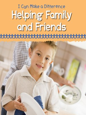cover image of Helping Family and Friends