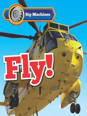 cover image of Big Machines Fly!