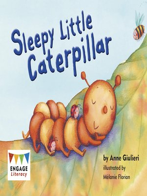 cover image of Sleepy Little Caterpillar