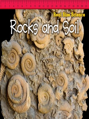 cover image of Rocks and Soil