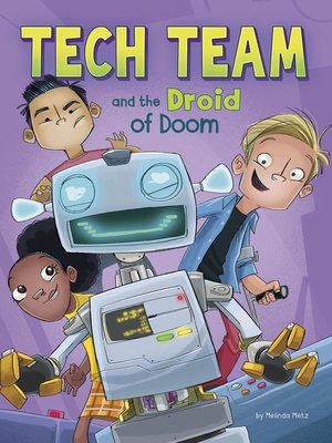 cover image of Tech Team and the Droid of Doom