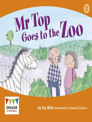 cover image of Mr Top Goes to the Zoo
