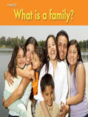 cover image of What Is a Family?