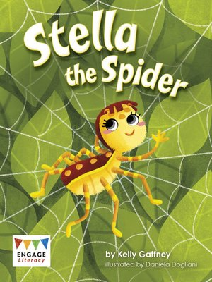 cover image of Stella the Spider
