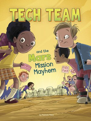 cover image of Tech Team and the Mars Mission Mayhem