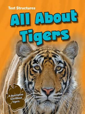 cover image of All About Tigers