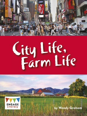 cover image of City Life, Farm Life