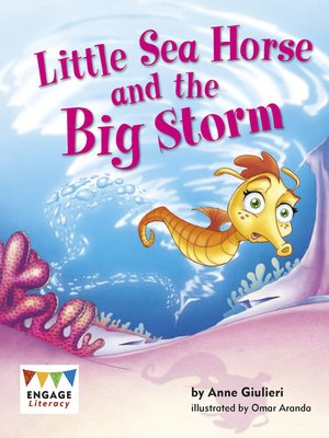 cover image of Little Sea Horse and the Big Storm