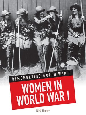 cover image of Women in World War I