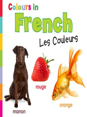 cover image of Colours in French