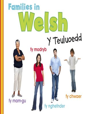cover image of Families in Welsh