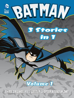 cover image of Batman 3 Stories in 1, Volume 1