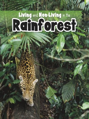 cover image of Living and Non-living in the Rainforest