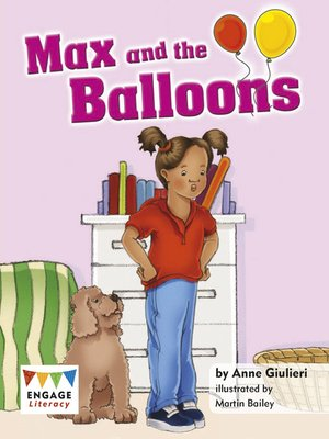 cover image of Max and the Balloons