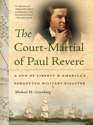 cover image of The Court-Martial of Paul Revere