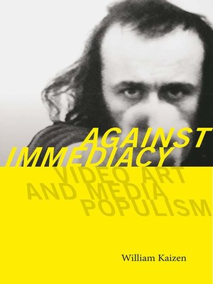 cover image of Against Immediacy