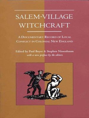 cover image of Salem-Village Witchcraft