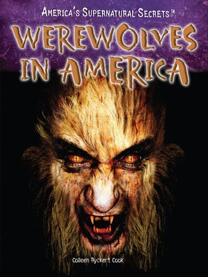 cover image of Werewolves in America