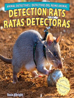 cover image of Detection Rats / Ratas detectoras