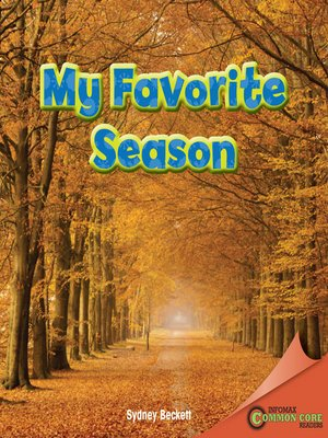 cover image of My Favorite Season