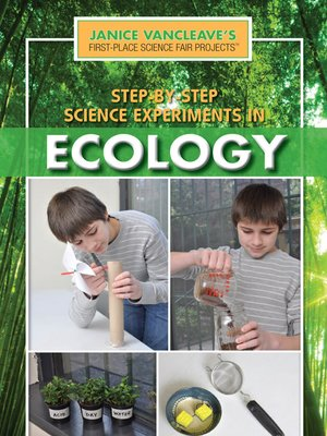 cover image of Step-by-Step Science Experiments in Ecology