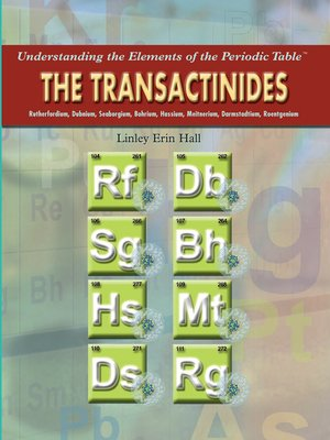cover image of The Transactinides