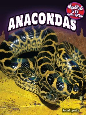 cover image of Anacondas