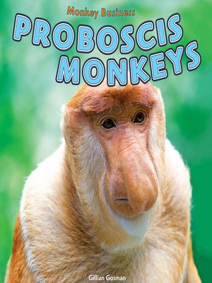 cover image of Proboscis Monkeys