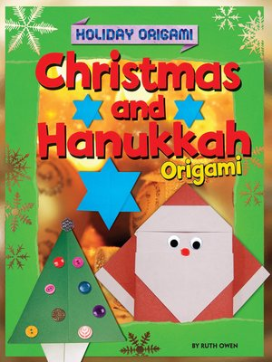 cover image of Christmas and Hanukkah Origami