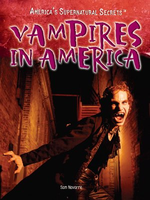 cover image of Vampires in America