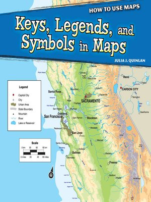 cover image of Keys, Legends, and Symbols in Maps