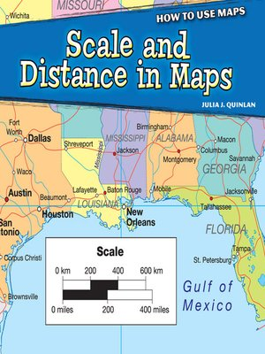 cover image of Scale and Distance in Maps