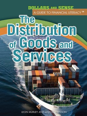 cover image of The Distribution of Goods and Services
