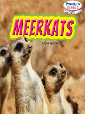 cover image of Meerkats