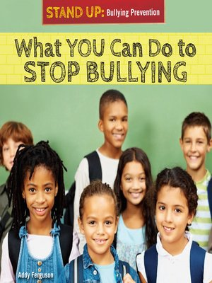 cover image of What You Can Do to Stop Bullying