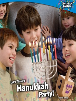 cover image of Let's Throw a Hanukkah Party!