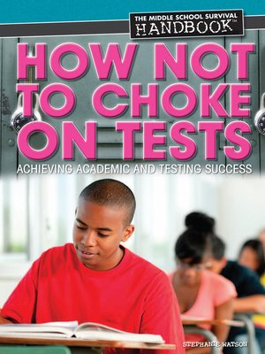 cover image of How Not to Choke on Tests