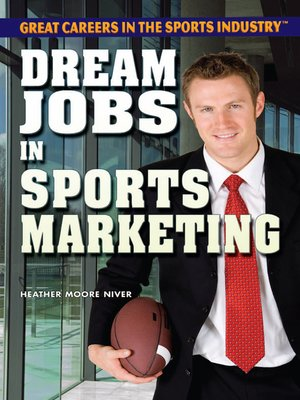 cover image of Dream Jobs in Sports Marketing