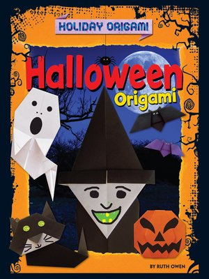 cover image of Halloween Origami