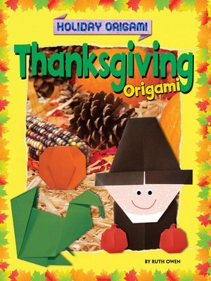 cover image of Thanksgiving Origami