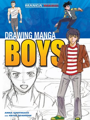 cover image of Drawing Manga Boys