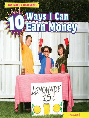 cover image of 10 Ways I Can Earn Money