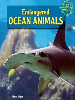 cover image of Endangered Ocean Animals