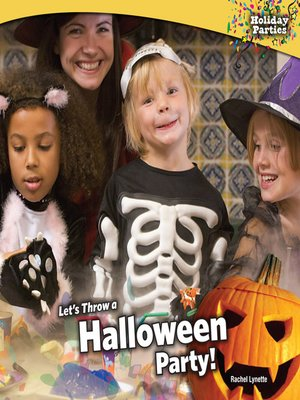 cover image of Let's Throw a Halloween Party!