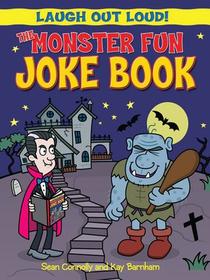 cover image of The Monster Fun Joke Book