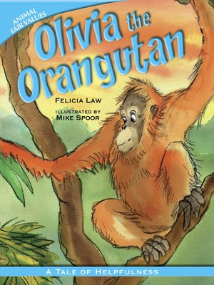 cover image of Olivia the Orangutan