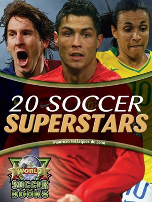 cover image of 20 Soccer Superstars