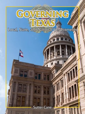 cover image of Governing Texas