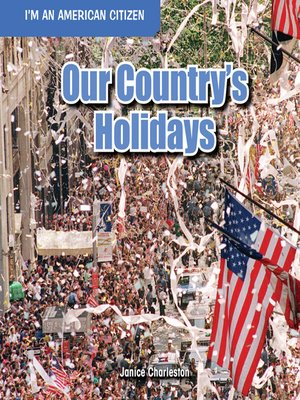 cover image of Our Country's Holidays